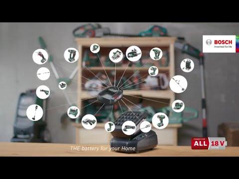 Système Power for ALL 18V Bosch : clip Multiman