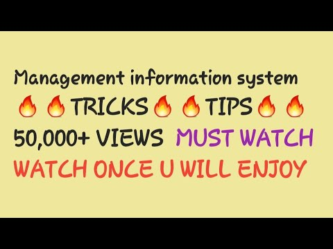 Management information system part 1 easy way