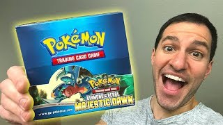 *IT'S HERE!* Diamond & Pearl MAJESTIC DAWN Booster Box of Pokemon Cards Opening!