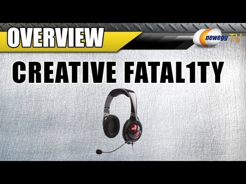 Newegg TV: Creative Fatal1ty Gaming Headset Overview