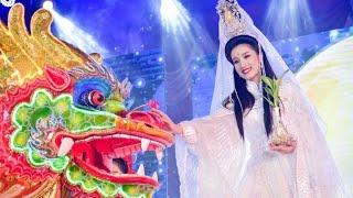 งาน ตรุษจีน นครสวรรค์ 105ปี !!วินาทีเลือกองค์สมมุติเจ้าแม่กวนอิม ปี2564 พลอยเสี่ยงได้เพียงครั้งเดียว