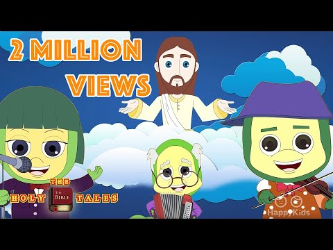 God Is So Good I Bible Rhymes Collection I Bible Songs For Children with Lyrics | Holy Tales