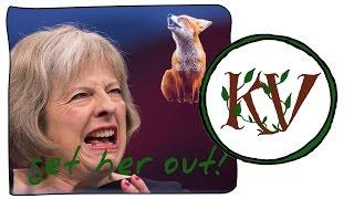 Theresa May and Fox Hunting (WARNING: VERY STRONG LANGUAGE) - Keeper Vegan