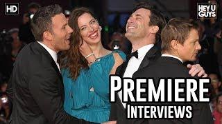 The Town Premiere Red Carpet Interviews - Ben Affleck, Jon Hamm, Jeremy Renner, Blake Lively