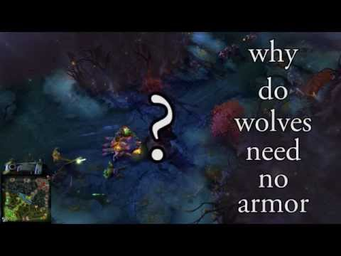 Wolves Need no Armor
