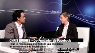 Entrevista a Chris Hughes, co-fundador de Facebook - NewTV 12-2012 @newlink_newtv