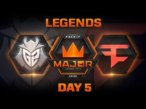 G2 vs FaZe - Dust 2 (FACEIT Major: London 2018)