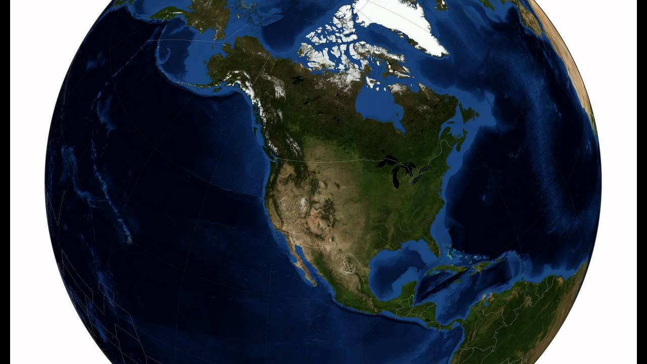 Satellite Images Of All Continents YouTube - World satellite map with countries