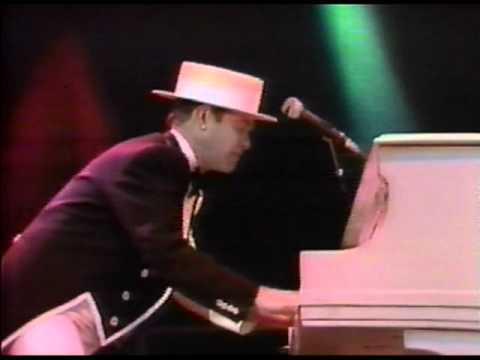 Elton John  Bennie and The Jets  Wembley 1984 HQ  and Audio