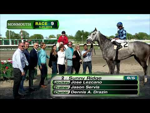 video thumbnail for MONMOUTH PARK 5-25-19 RACE 9 – THE SALVATOR MILE