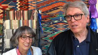 Santa Fe Spanish Market - Artist Interview - Irvin & Lisa Trujillo | Weaving