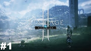 Lineage 2 Revolution #1 Gameplay Прохождение Android/iOS Обучение и начало игры за Воина