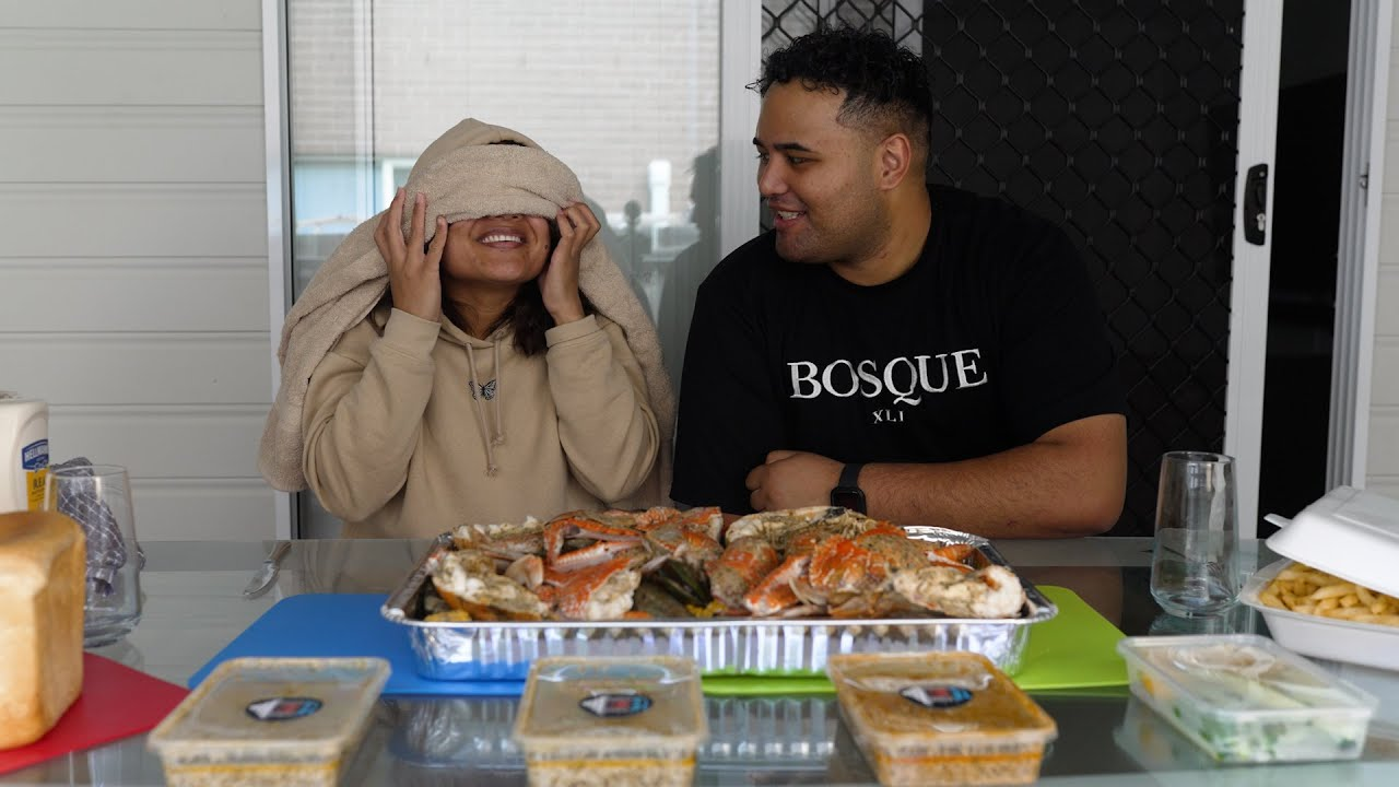 Suprise Mothers Day Seafood Mukbang 😍