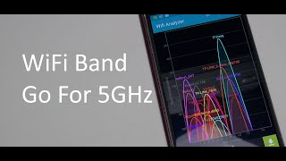 Changing WiFi Band from 2.4GHz to 5GHz
