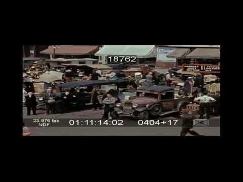 1946 - Scenes from Ottawa's ByWard Market.