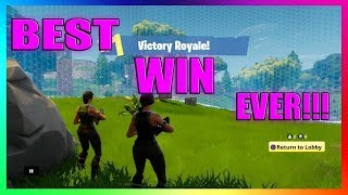 The BEST way to WIN a game of FORTNITE: Battle Royale! MUST WATCH!