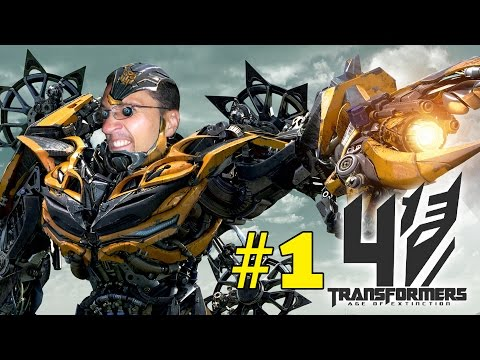 Lets Play: Transformers 4 - Age of Extinction (Part 1 iOS Face Cam Gameplay)
