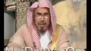 شيخ السعودية وكلمة قحبه على الهواء