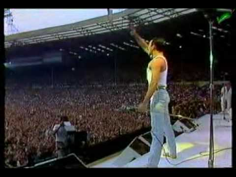 Queen Live AID 1985