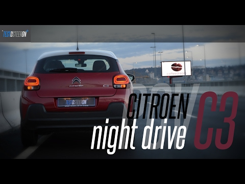 NEW CITROEN C3 POV NIGHT DRIVE