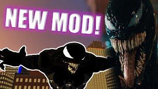 Ultimate Spider-Man VENOM MOVIE SUIT MOD (PC Gameplay)