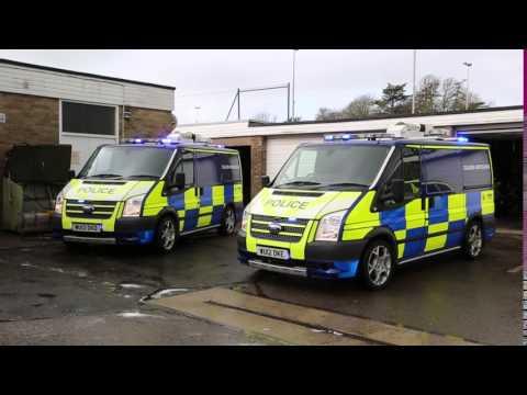 Avon and Somerset Police Light Demonstration