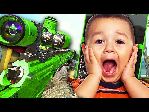 AIMBOT TROLLING LITTLE KIDS WITH MOD MENU! (Black Ops 2 Trolling)