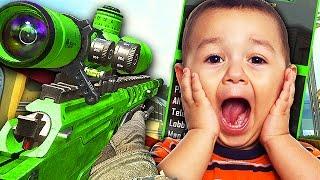 AIMBOT TROLLING LITTLE KIDS WITH MOD MENU! (Black Ops 2 Trolling)