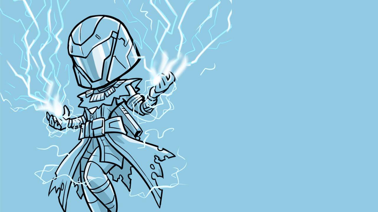 Destiny the taken king stormcaller build ft hand snipes for pvp crucible gameplay youtube - Warlock stormcaller ...