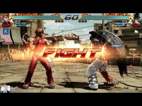Tekken7 Hwoarang(???) vs Deviljin(MaemJa) 鉄拳7 철권7 korea online battle