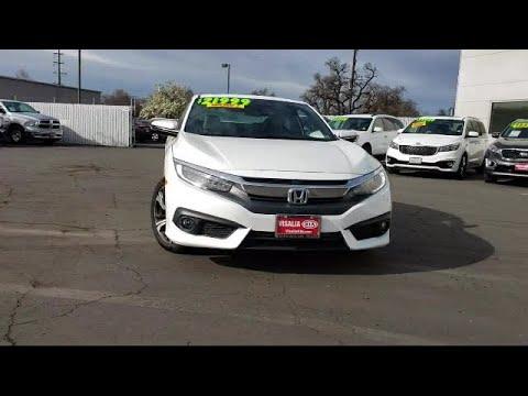 2016 Honda Civic Coupe Touring Hanford Visalia Porterville Lemoore Tulare