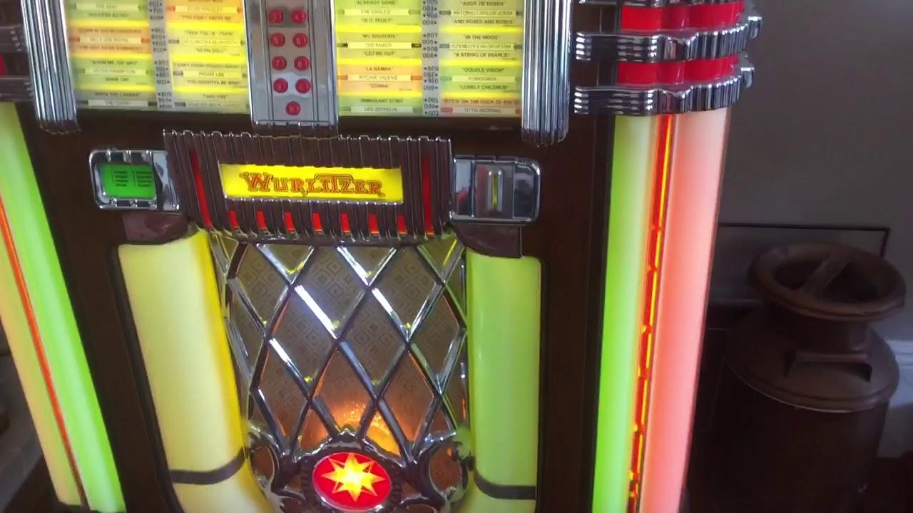 My Wurlitzer 1015 OMT Jukebox
