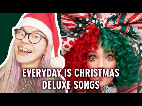 SIA - EVERYDAY IS CHRISTMAS DELUXE ALBUM TRACKS (REACTION) | Sisley Reacts Mp3