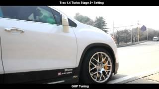 [FLETA MEDIA] TRAX 1.4 TURBO Stage2+ Setting ( 트랙스 1.4터보 ECU맵핑 + 다이노테스트 + 로드테스트) GHP Tuning