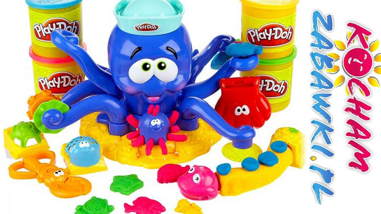 Play Doh • Octopus • Sprytna Ośmiornica • Kreatywne zabawki
