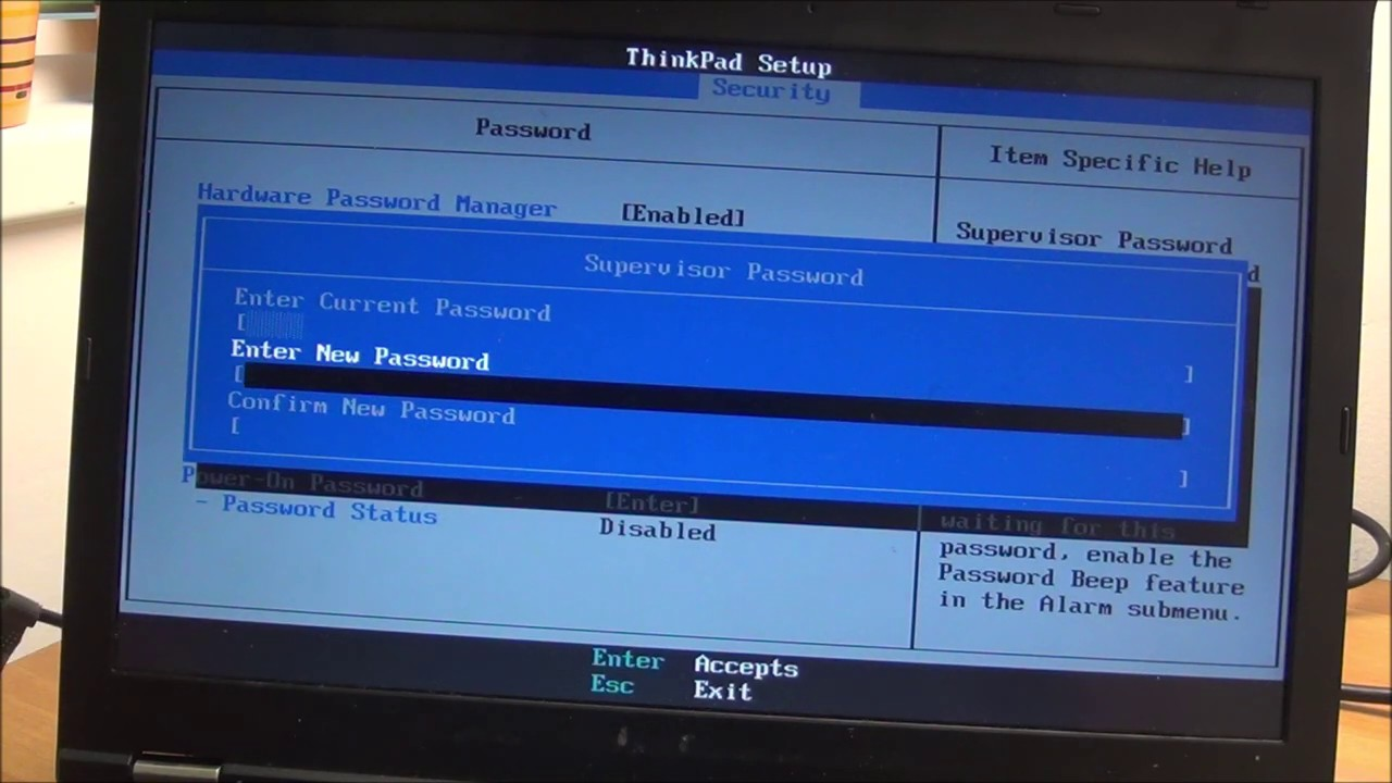 lenovo password manager update