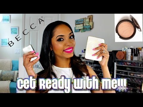 Get Ready With Me & First Impressions 🌟 Becca x Jaclyn Hill Champagne Collection 🌟