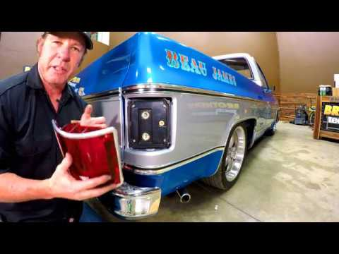 1973 87 Chevy Amp Gmc Truck Led Tail Light Conversion Youtube