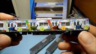 【Nゲージ@鉄道コレクション】富士急行線 6000系〝マッターホルン号とトーマスランド号〟開封