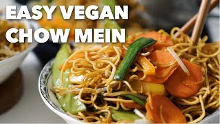 Easy Vegan Chow Mein   DIY Chinese Take-Out