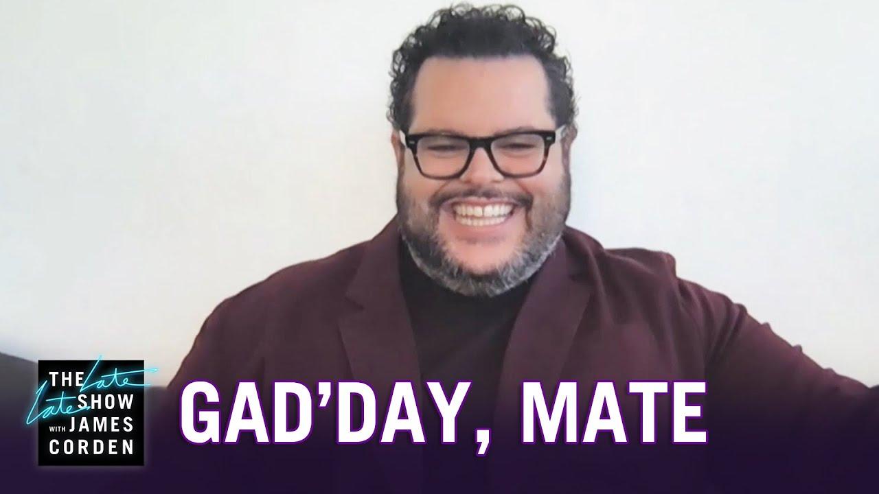 In Australia, It's Josh Gad'day Mate Now