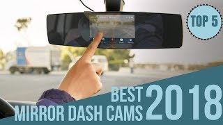Top 5: Best Mirror Dash Cams of 2018 / Dashcam on Amazon