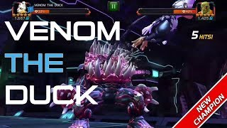Venom The Duck Special Attacks & Abilities - Marvel Contest of Champions