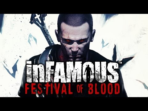 inFAMOUS: Festival of Blood (DLC) - Full Playthrough (PS3)
