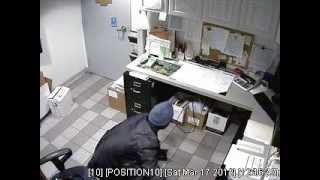 The Wine Rack's Video Surveillance System Captured The Suspect Stealing The Bag.