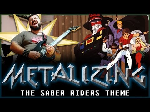09 - Metalizing The Saber Riders Theme