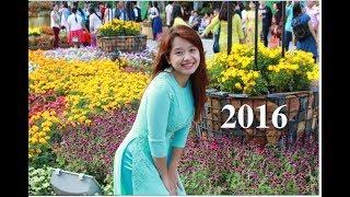 Tết 2016 ở đường hoa Nguyễn Huệ, Q.1 | Kể chuyện bằng hình