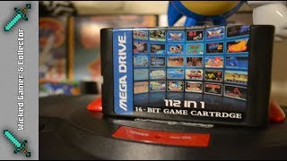 "Sega Megadrive & Genesis  "" 112 in 1 Version 3 Ultimate "" Multi Game Cart - Game Collection"
