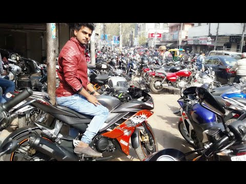 SECOND HAND BIKES IN CHEAP PRICE | BEST PLACE TO BUY USED/OLD SUPER BIKES IN DELHI INDIA KAROL BAGH