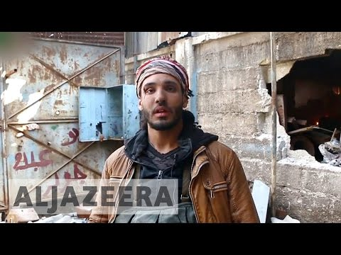 Syrian government hits back at rebels after Damascus assault